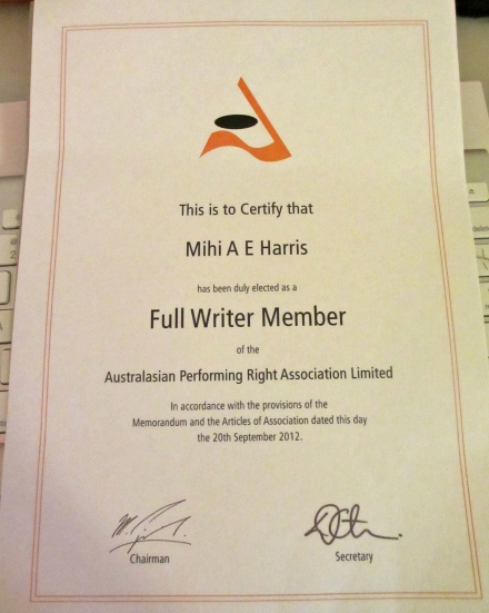 Woohoo - Full writer member!